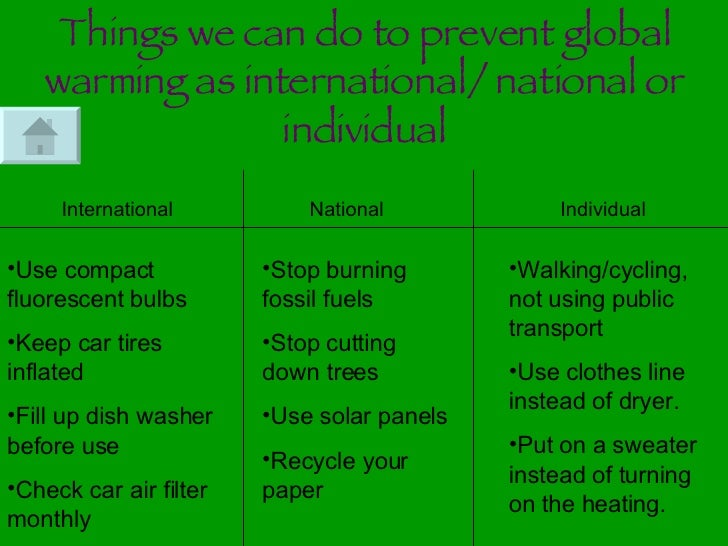we must stop global warming now essay Report abuse home hot topics environment stop pollution now if we dont stop pollution and global warming this is our only home and we must.