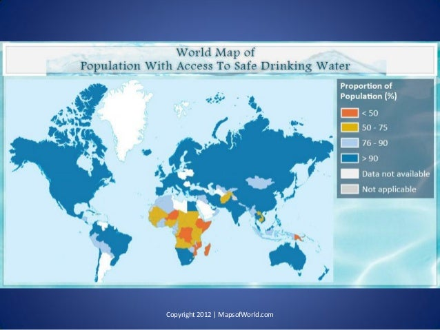 Is The Global Water Crisis Real? - Facts & Infographic PDF Mapsofworld on