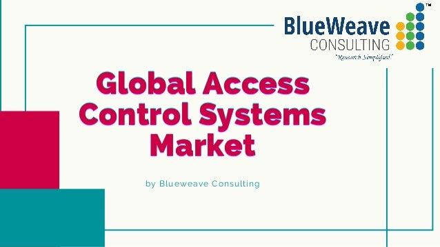 global access control systems market 1 638