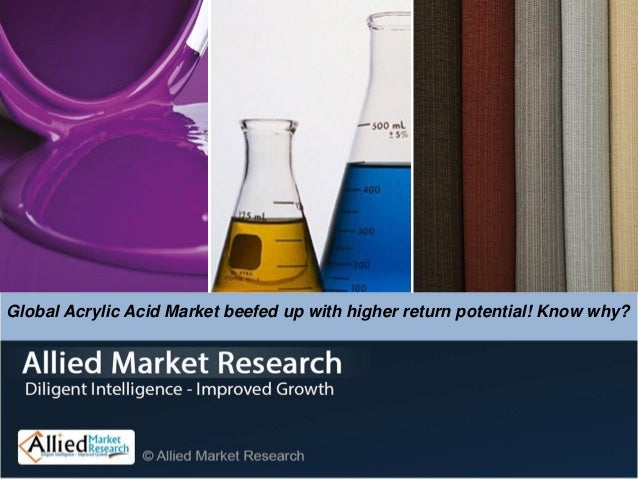 Global Acrylic Acid Market beefed up with higher return potential! Know why?