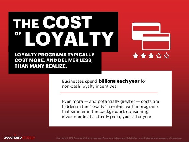Businesses spend billions each year for non-cash loyalty incentives. Even more — and potentially greater — costs are hidde...