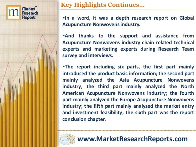 www.MarketResearchReports.com Key Highlights Continues… In a word, it was a depth research report on Global Acupuncture N...