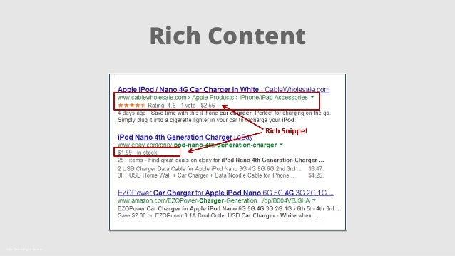 Rich Content  Källa: SearchEngine Journal