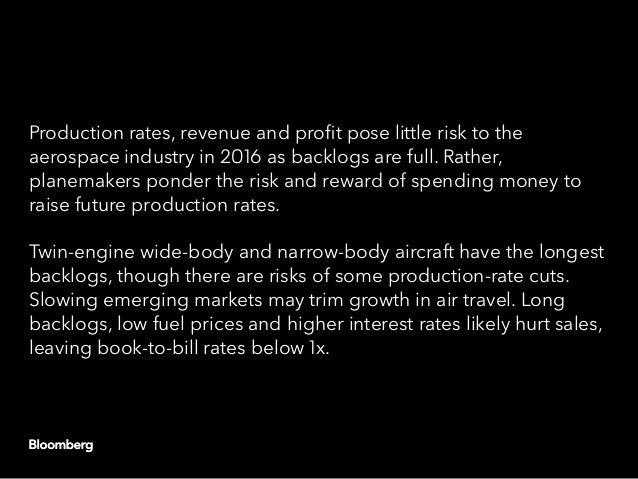 Global aerospace: 2016 outlook Slide 3