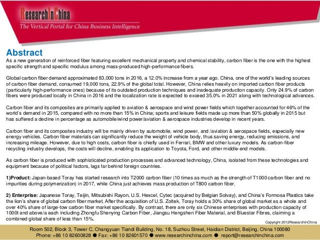 Global and china carbon fiber and cfrp industry report, 2017 2021 Slide 3