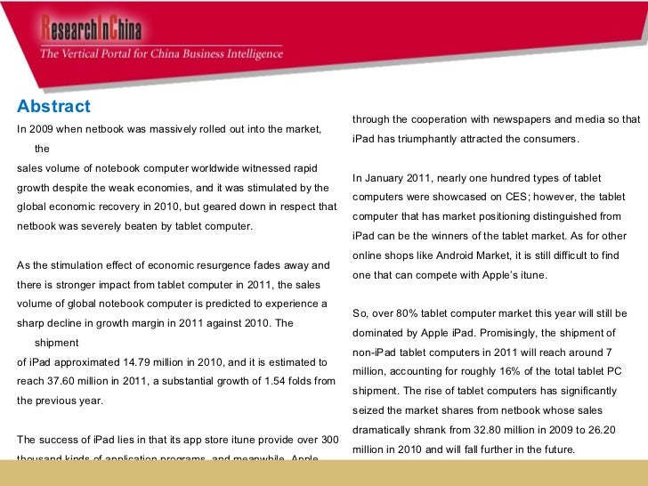 Global and china notebook pc industry report, 2010 Slide 3