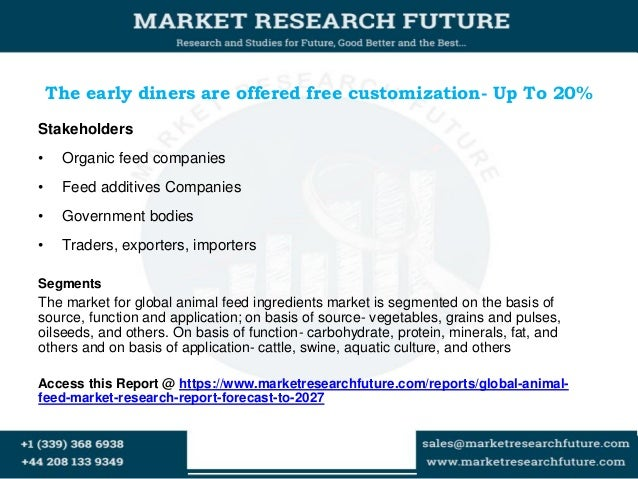 global animal feed additives market report The global feed additives market 3 months analyst support along with the market estimate sheet (in excel) report 2018 global animal feed antioxidants market.