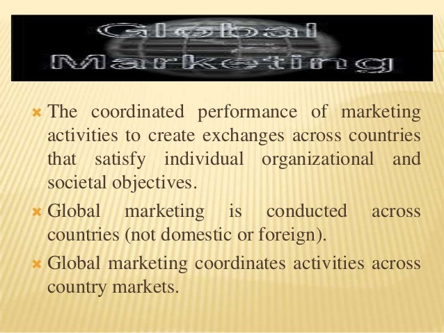 The important aspects of marketing