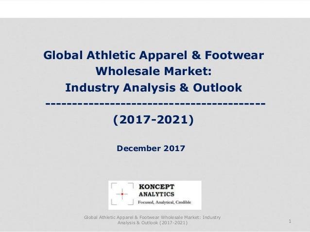 Global Athletic Apparel & Footwear Wholesale Market: Industry Analysis & Outlook -----------------------------------------...