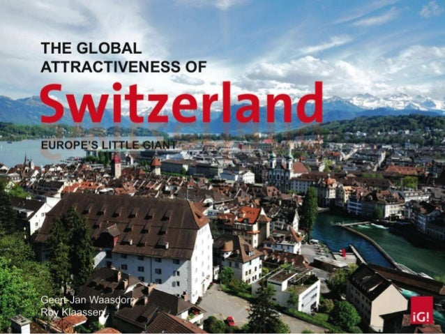 Geographic perspective of Switzerland