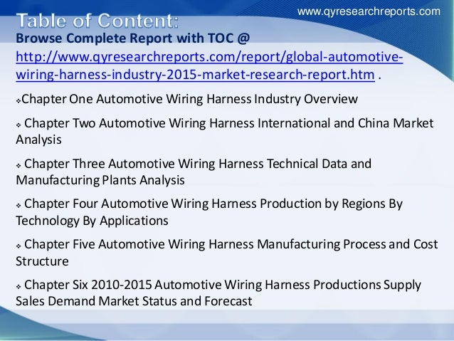 global automotive wiring harness market growth size share research and industry analysis 2015 4 638?cb=1451991266 global automotive wiring harness market growth, size, share, research automotive wiring harness manufacturing process at bakdesigns.co