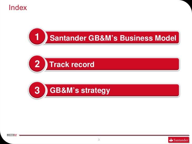 GLOBAL BANKING AND MARKETS-SANTANDER INVESTOR DAY 2011 Slide 3