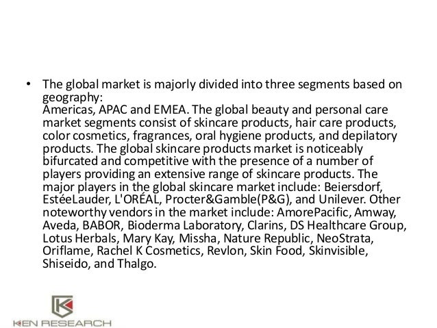 Global beauty products import valueAsia-Pacific Beauty and Personal C…