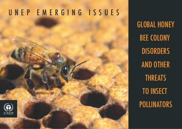 UNEP EMERGING ISSUES                         GLOBAL HONEY                         BEE COLONY                           D...