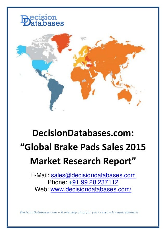 Research reports for sale