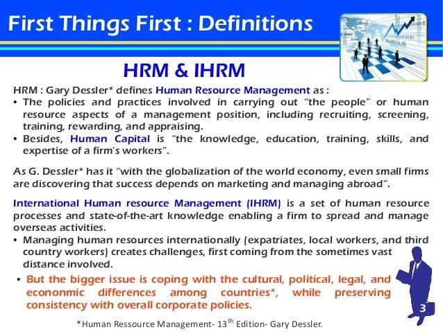 management international definition