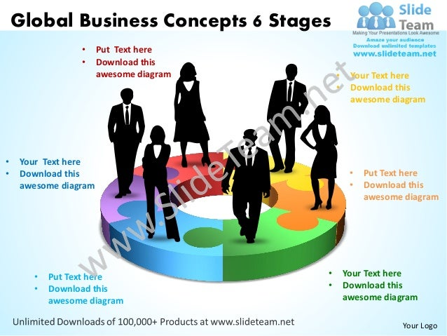 Global business concepts 6 stages powerpoint templates 0812 global business concepts 6 stages put text here toneelgroepblik Gallery