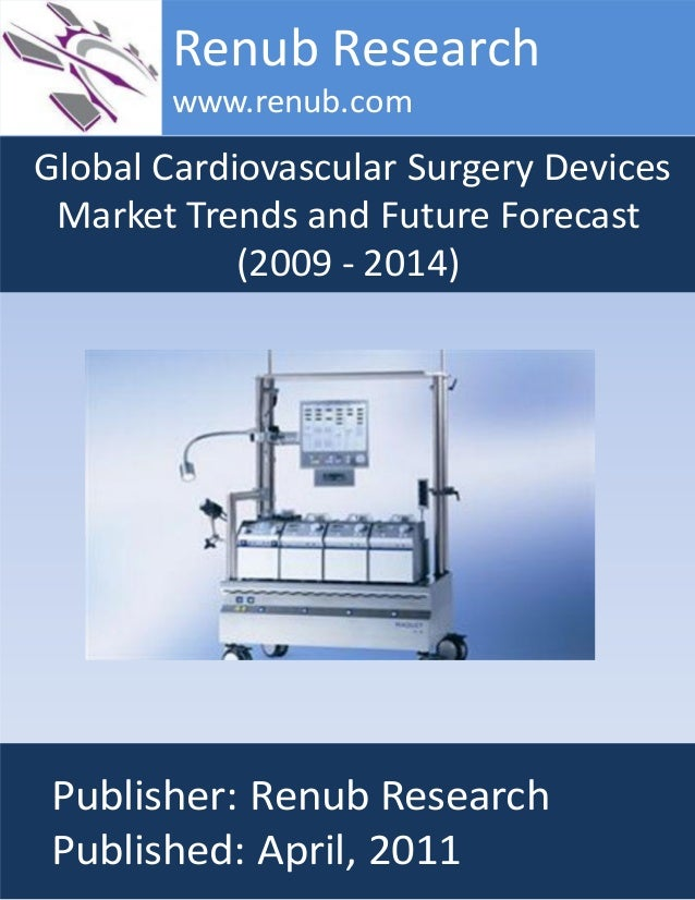 Global Cardiovascular Surgery Devices Market Trends and Future Forecast (2009 - 2014) Renub Research www.renub.com Publish...