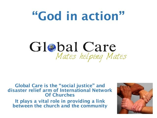 "Global Care is the ""social justice"" and disaster relief arm of International Network Of Churches It plays a vital role in ..."