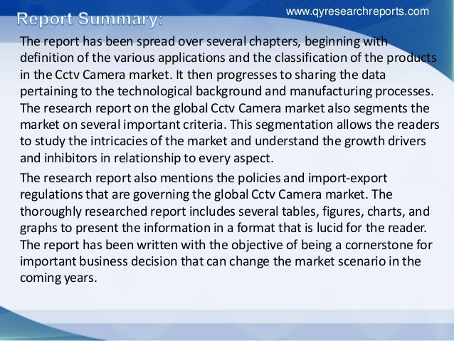 "global cctv cameras market A new research report by persistence market research highlights the scenario of  the global cctv camera market – the report is titled ""cctv camera market:."