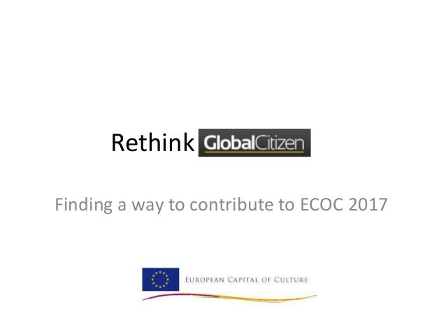 RethinkFinding a way to contribute to ECOC 2017