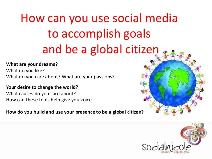 Social Media And Global Citizenship For Teens