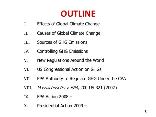Global climate change and us environmental law power point presenta…