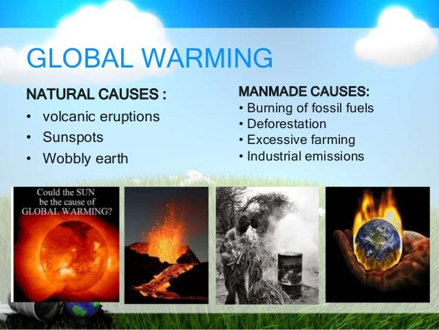 Global climatic changes and its impact