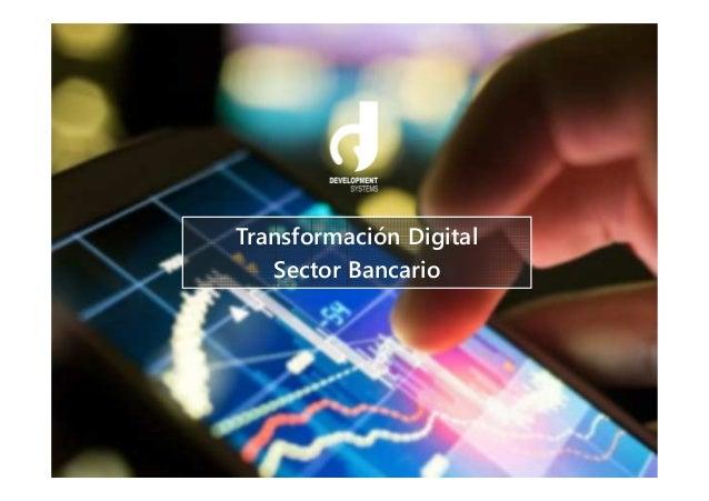 Transformación Digital Sector Bancario