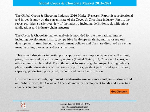 report of analysis about heavenly chocolates This report provides an in-depth analysis of the global chocolate market download a free sample to know more about chocolate market, chocolate market size, chocolate market share, chocolate market report, chocolate industry, chocolate sales, chocolate forecast, chocolate producers.