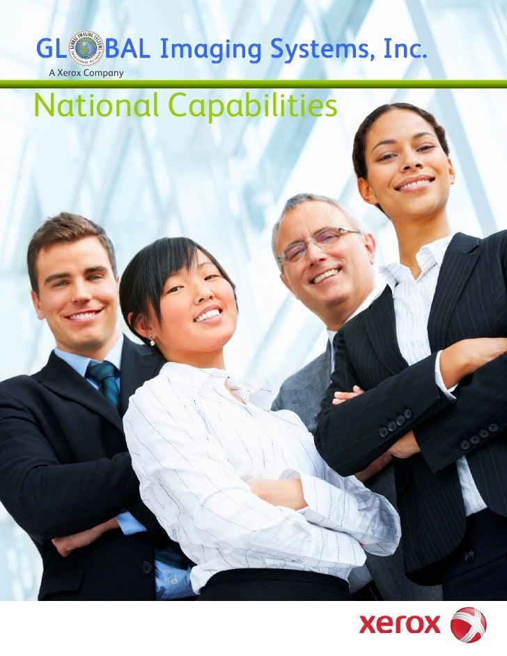 GL          BAL Imaging Systems, Inc.  A Xerox Company    National Capabilities