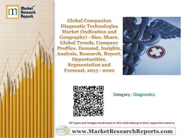 www.MarketResearchReports.com Category : Diagnostics All logos and Images mentioned on this slide belong to their respecti...