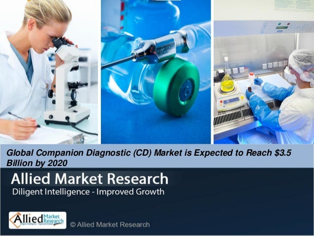 Global Companion Diagnostic (CD) Market is Expected to Reach $3.5 Billion by 2020