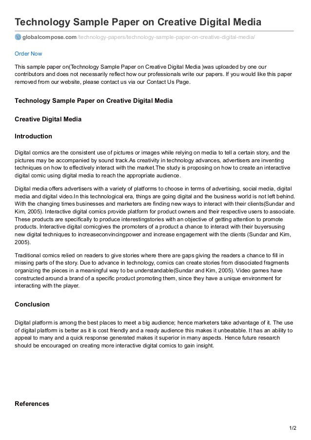 Howto Create Technology Article Introduction
