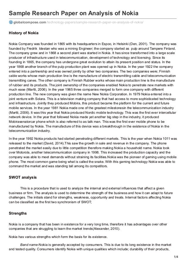 Observation essays description