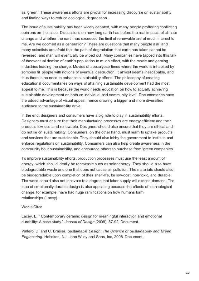 Globalcompose Com Sample Essay On Critical Reflection Sustainability