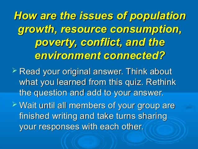 Global Issues Trivia
