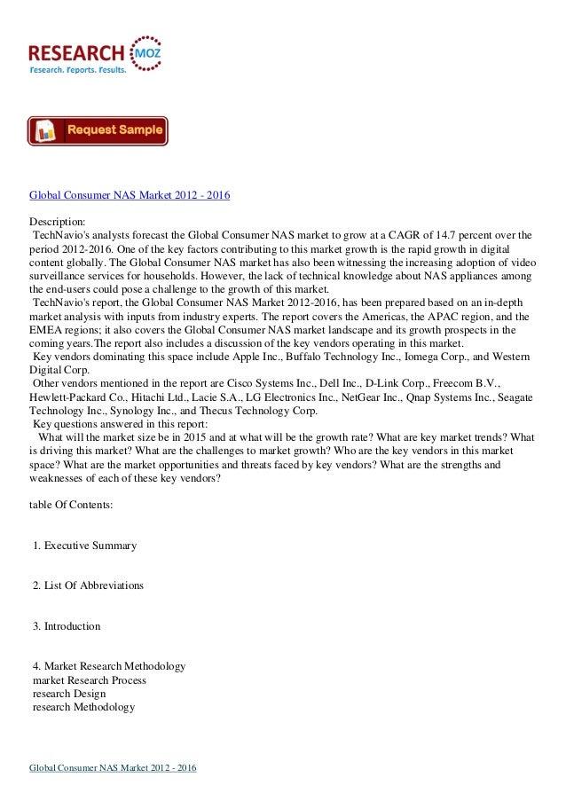 Global Consumer NAS Market 2012 - 2016Description:TechNavios analysts forecast the Global Consumer NAS market to grow at a...