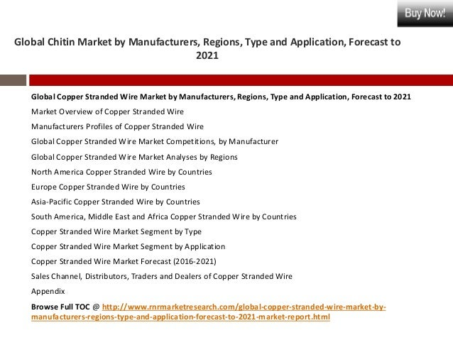 Copper Cable Market Share : Global copper stranded wire market industry analysis and