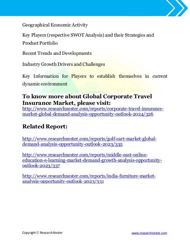 Global Corporate Travel Insurance Market 2017 2024
