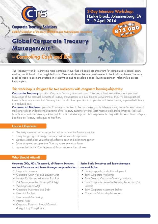 Technology Management Image: Global Corporate Treasury Management Pdf