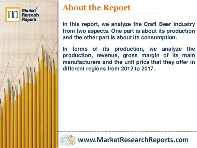 Global craft beer industry market research 2017 for Craft beer market share 2017