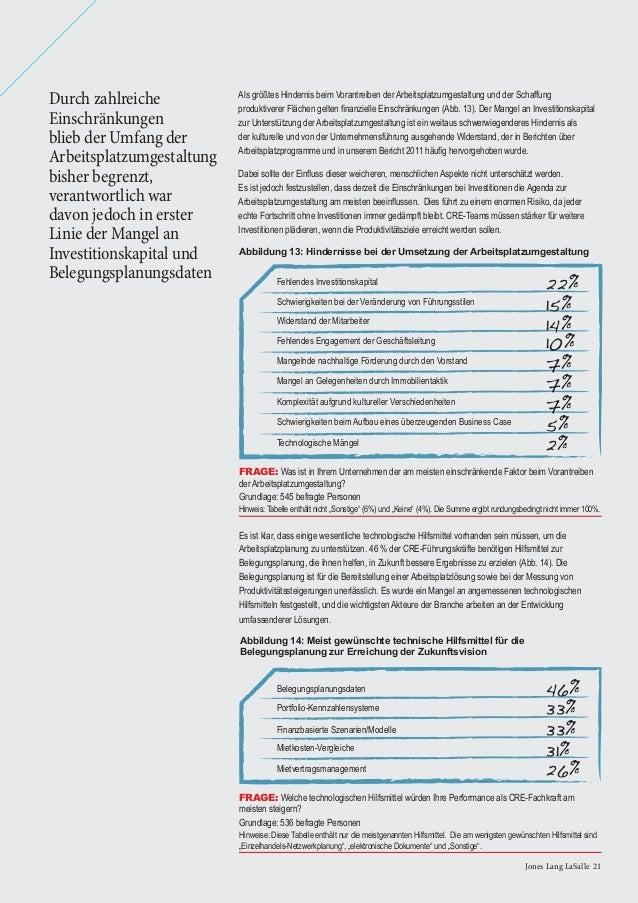 22 Global Corporate Real Estate Trends 201322 Global Corporate Real Estate Trends 2013 • Das Voranbringen einer anspruchsv...