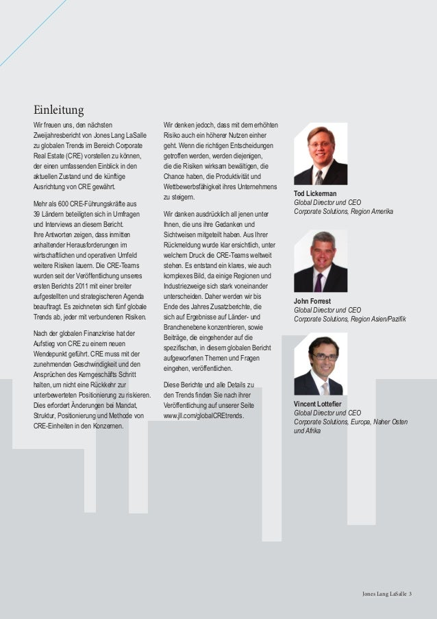 4 Global Corporate Real Estate Trends 20134 Global Corporate Real Estate Trends 2013 Druck durch Unternehmensführung erfor...