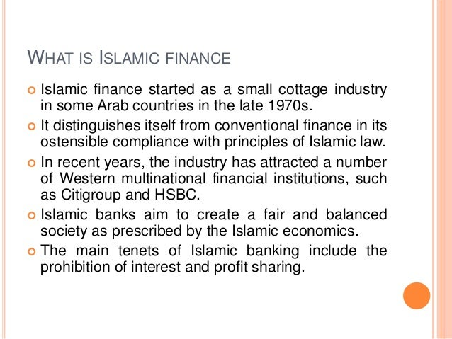 Global Crisis And Islamic Finance Banking