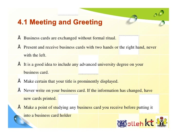 Global culture a case study of nigeria 23 41 meeting and greeting business cards colourmoves