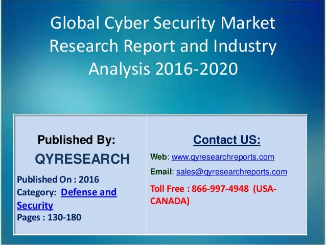market analysis of it security industry Cyber security market size, share & trends analysis report by component ( solution, services), by security type, by solution, by services, by deployment,  by.