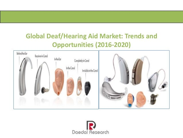 Global Deaf/Hearing Aid Market: Trends and Opportunities (2016-2020)