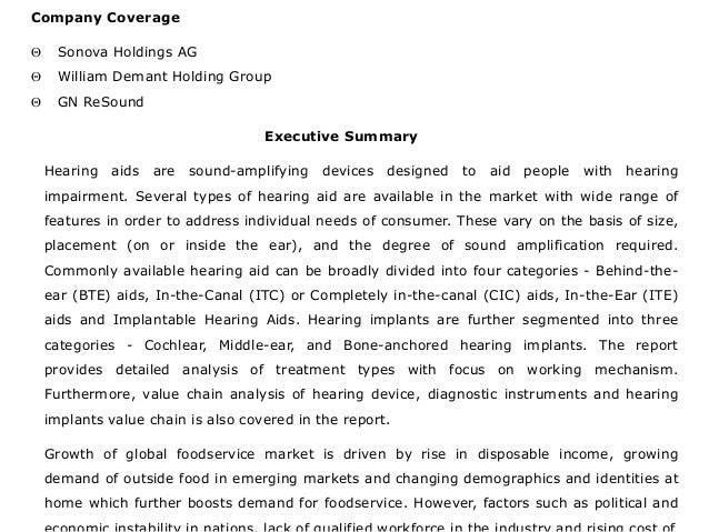 Global Deaf/Hearing Aid Market: Size, trends and Forecasts (2016-2020) - New Report by Daedal Research Slide 3
