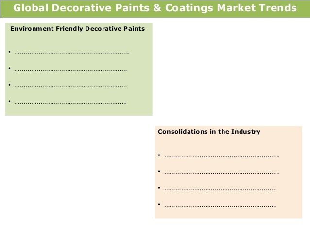global decorative paints and coatings market Issuu is a digital publishing platform that  decorative paints market: global industry analysis and  decorative paints, also known as decorative coatings,.